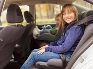 Перевозка детей в бустере в автомобиле — Юридические советы