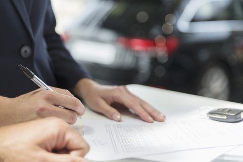 Переоформление машины — Юридические советы